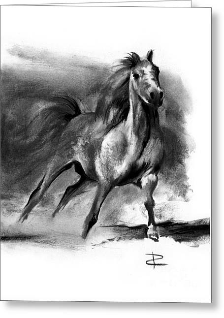 Equine II Greeting Card