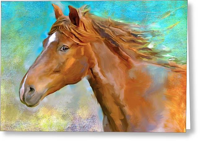 Equus 1 Greeting Card