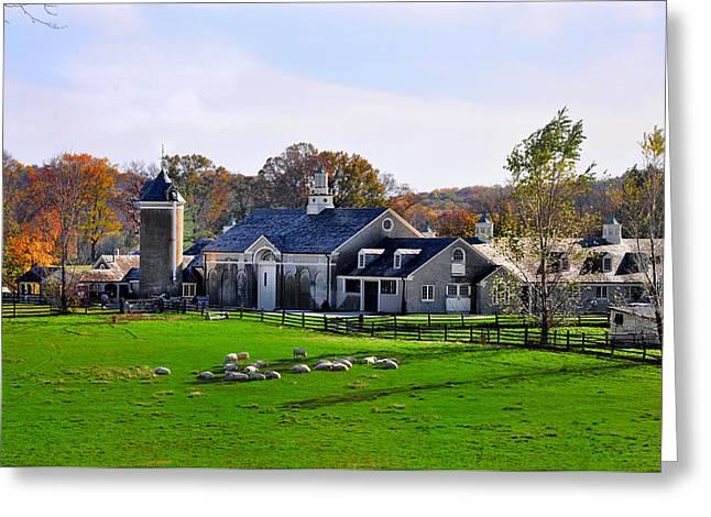 Erdenheim Farm In Whitemarsh Pa Greeting Card by Bill Cannon