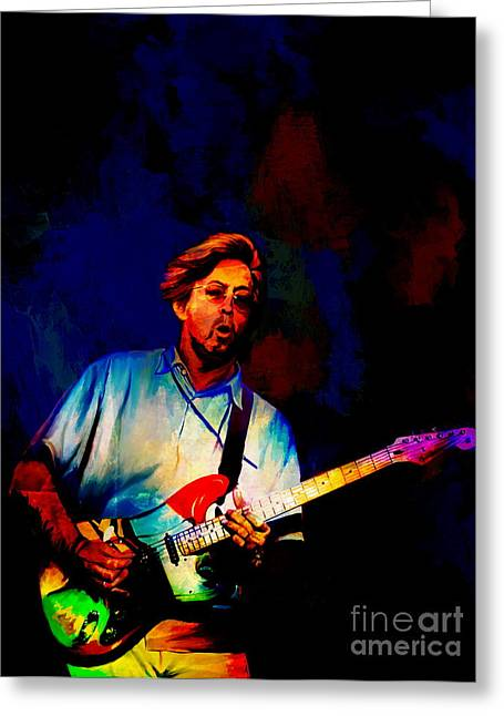 Eric Clapton 2  Greeting Card