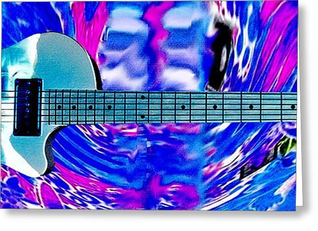 Eric Clapton Guitar Greeting Card