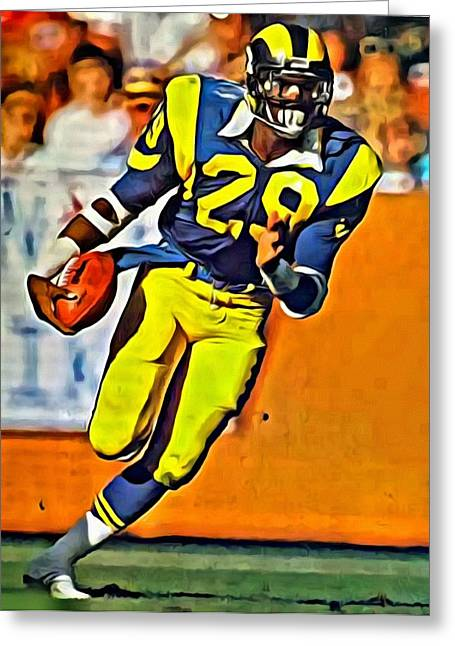 Eric Dickerson Greeting Card