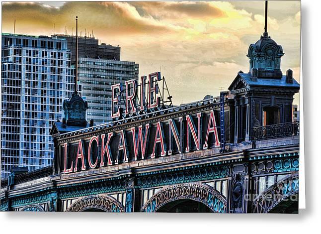 Erie Lackawanna Station Hoboken Greeting Card