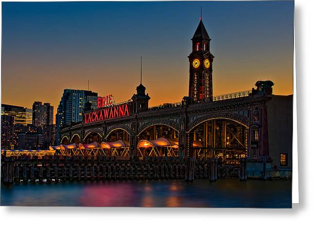 Erie Lackawanna Greeting Card by Susan Candelario