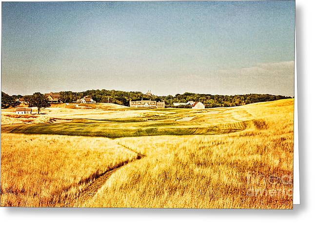 Erin Hills #18 Greeting Card