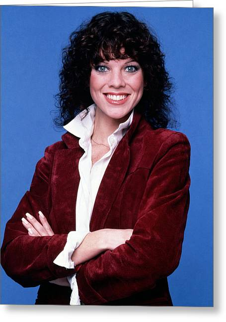 Erin Moran In Happy Days  Greeting Card by Silver Screen