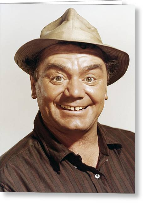 Ernest Borgnine In The Flight Of The Phoenix  Greeting Card by Silver Screen