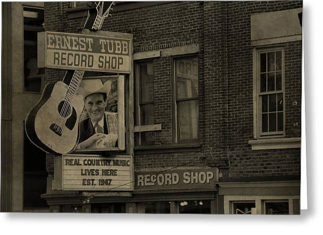 Ernest Tubb Record Shop Greeting Card
