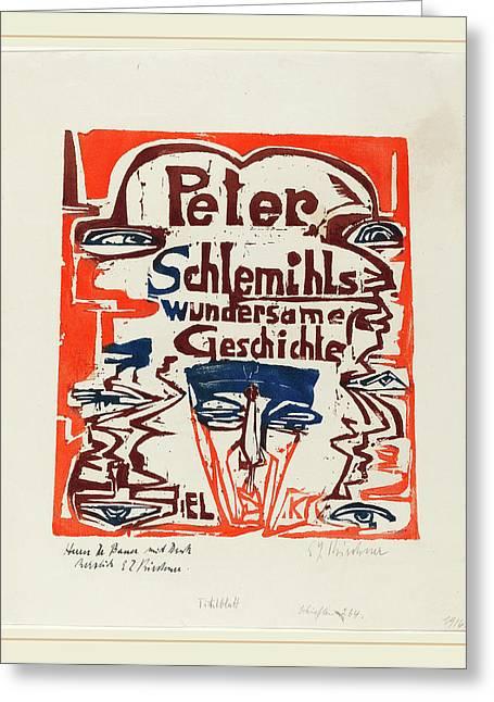 Ernst Ludwig Kirchner, Peter Schlemihls Wundersame Greeting Card
