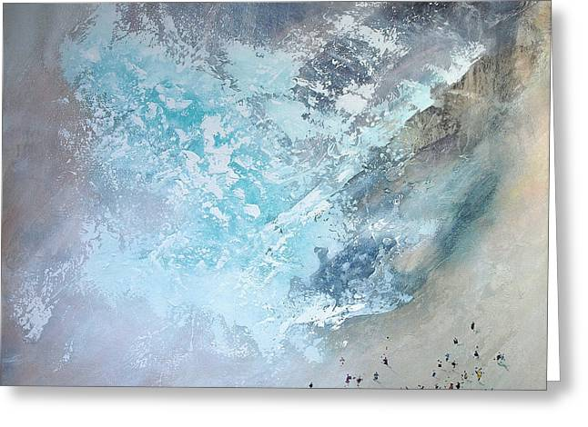 Erosion Greeting Card by Neil McBride