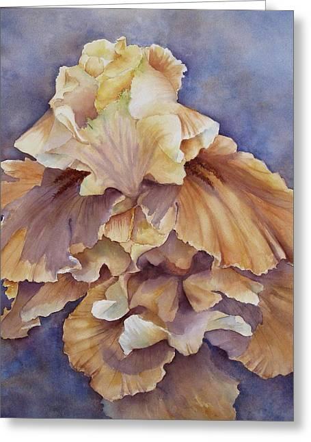Eruption II--flower Of Rebirth Greeting Card