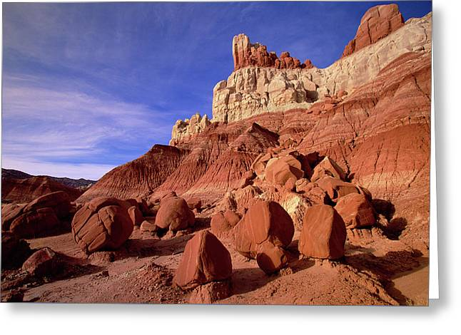 Escalante Grand Staircase Natl Monument Greeting Card