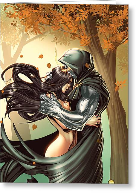 Escape From Wonderland 02a Greeting Card by Zenescope Entertainment