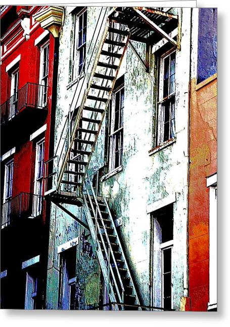Escape Greeting Card by Kathy Bassett