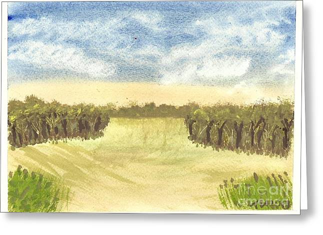 Escape To The Country Greeting Card