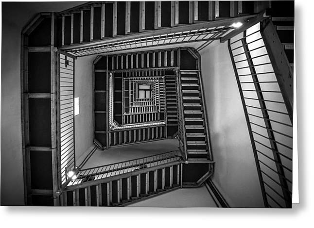 Escher Greeting Card by Kristopher Schoenleber