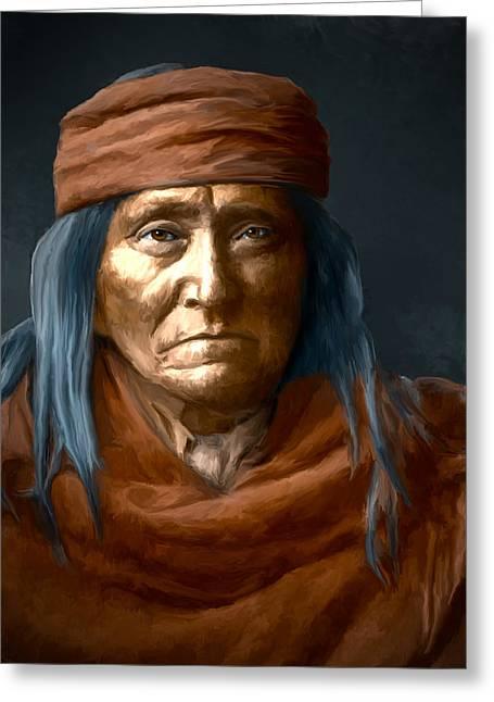 Eskadi - Apache Greeting Card