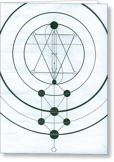 Esoteric Symbology  Greeting Card