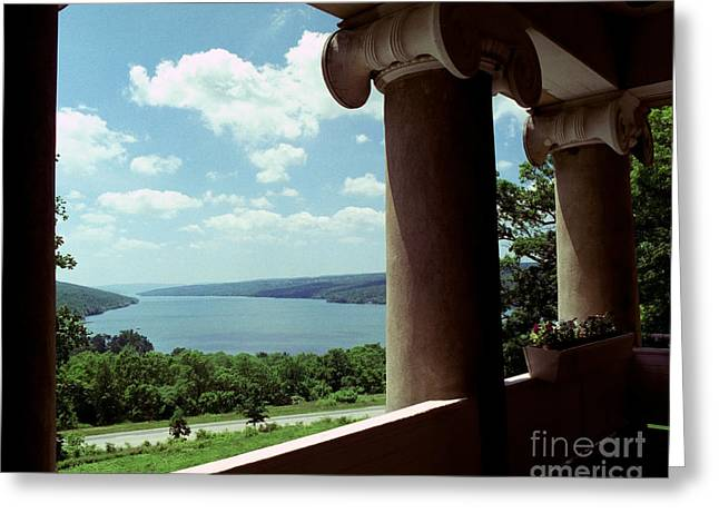 Greeting Card featuring the photograph Esperanza Balcony by Tom Brickhouse