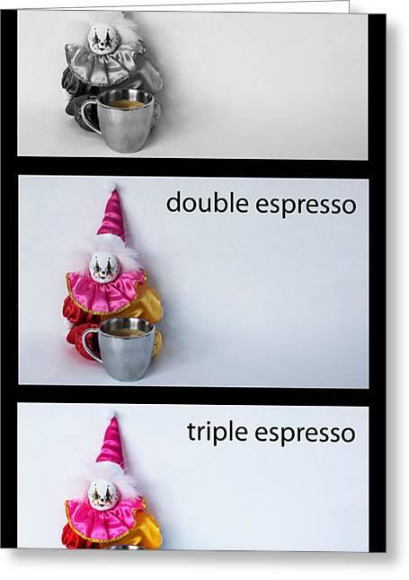 Espresso Choices Greeting Card