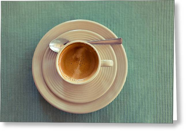 Espresso Greeting Card by Dutourdumonde Photography