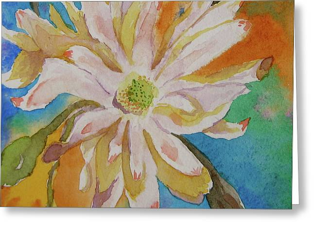Essence Greeting Card by Beverley Harper Tinsley