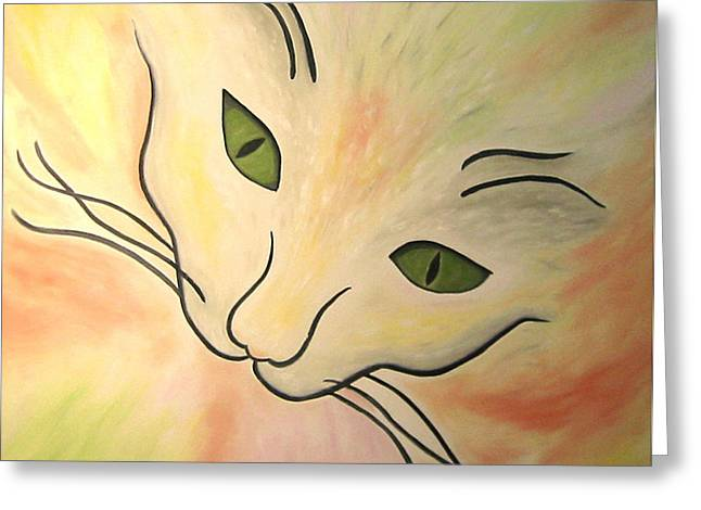 Essence Of Cat Greeting Card