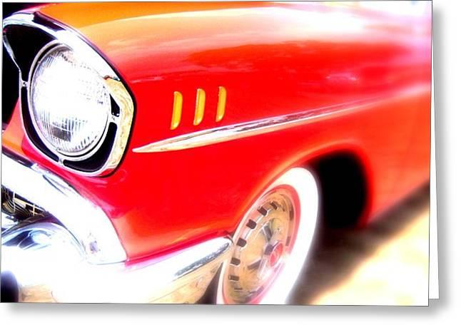 Essence Of Chevrolet Greeting Card by Don Struke