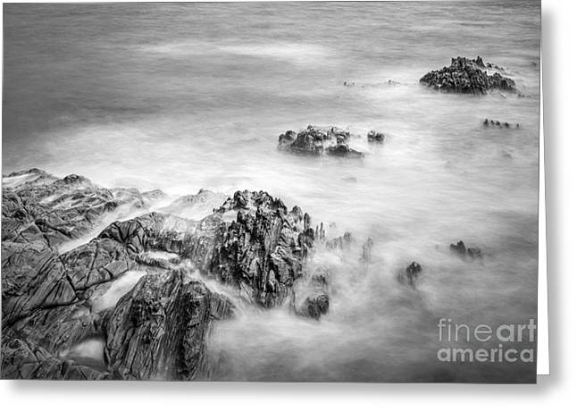 Greeting Card featuring the photograph Estacas Beach Galicia Spain by Pablo Avanzini