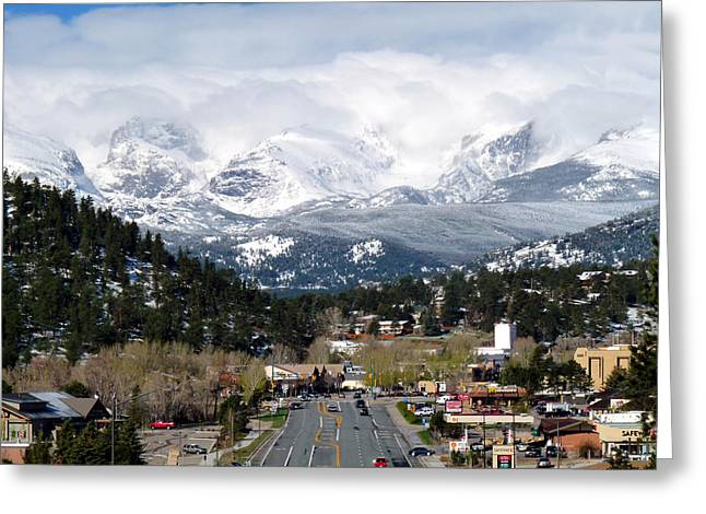Estes Park In The Spring Greeting Card