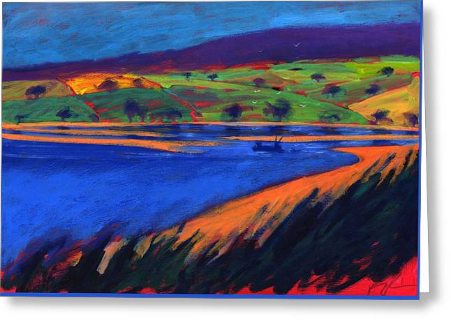 Estuary Greeting Card by Paul Powis
