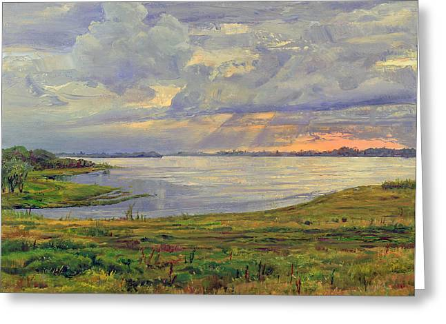 Estuary Polovinka Greeting Card