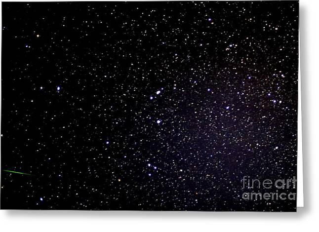 Eta Aquarid Meteor Shower Greeting Card by Thomas R Fletcher