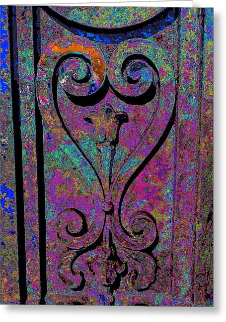 Etched Love Greeting Card