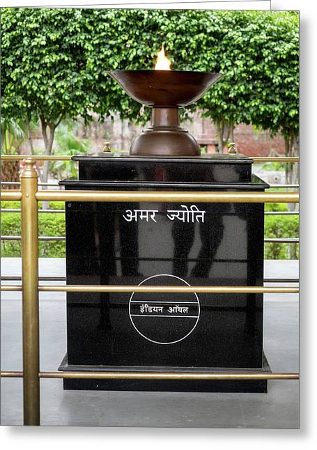 Eternal Flame At Jallianwala Bagh Greeting Card by Panoramic Images