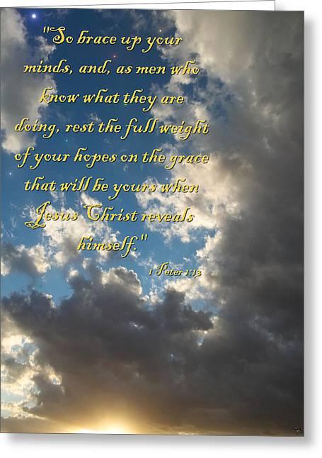 Eternal Hope Greeting Card by Glenn McCarthy Art and Photography