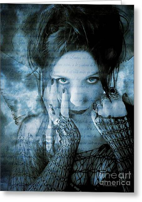 Eternal Outsider Greeting Card by Heather King