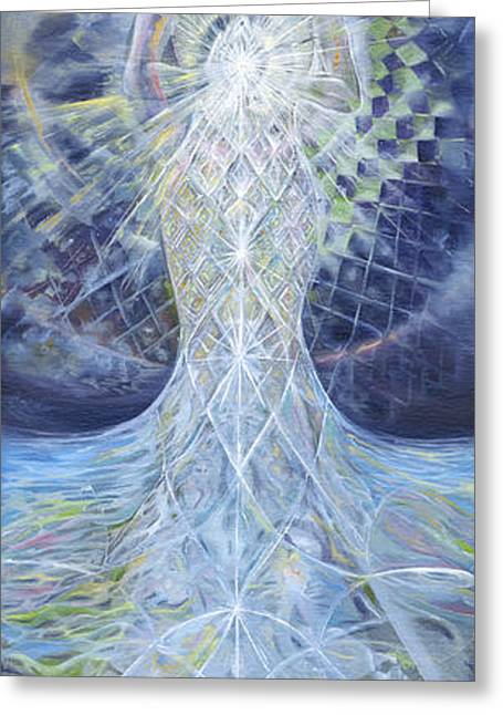 Ethereal Elemental Greeting Card by Jerod  Kytah