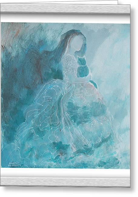 Ethereal Greeting Card by Eve Riser Roberts