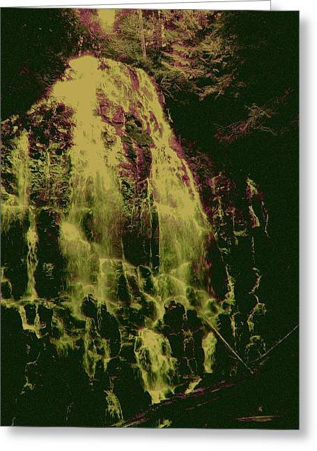 Ethereal Flow Greeting Card