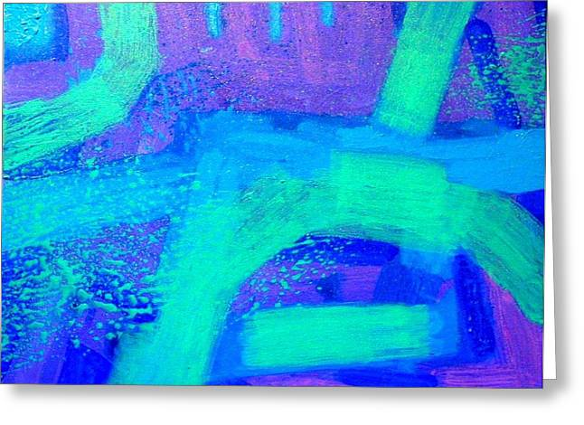 Ethereal Journey Greeting Card by John  Nolan