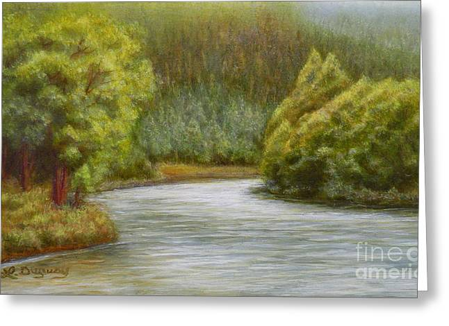 Ethereal River Greeting Card