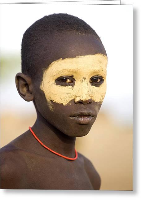 Ethiopia Boy Greeting Card