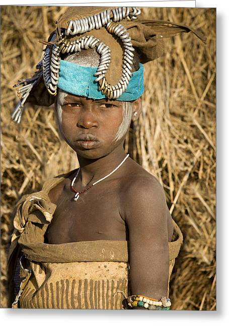 Ethiopia Tribe Greeting Card
