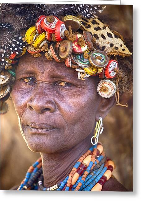 Ethiopia Women Greeting Card