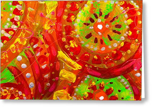 Ethnic Abstract Greeting Card