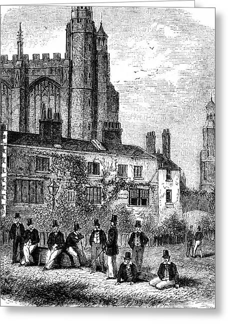 Eton College Greeting Card by Collection Abecasis