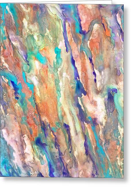 Eucalyptus Greeting Card by Rosie Brown