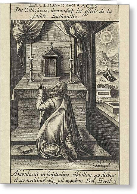 Eucharist, Jacob De Weert Greeting Card by Artokoloro