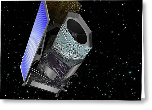 Euclid Space Probe Greeting Card by C Carreau/european Space Agency
